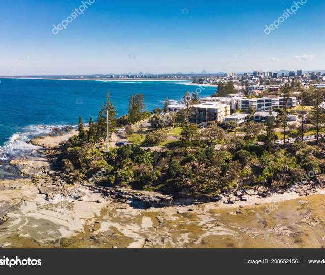 Aerial Drone View Of Shelly Beach At Caloundra Sunshine Coast Queensland Australia Photo By Mvaligursky