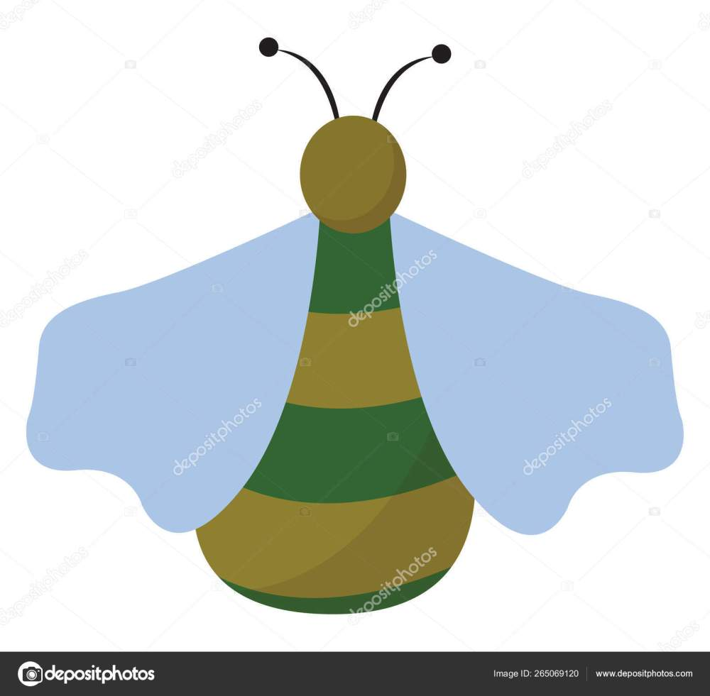 medium resolution of clipart of a green bug set on isolated white background viewed f ilustraci n de stock