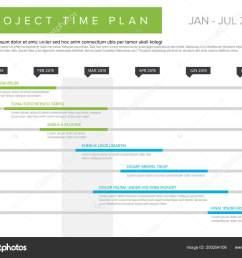 grafico di vettore progetto timeline diagramma di gantt avanzamento del progetto illustrazione stock [ 1600 x 1231 Pixel ]