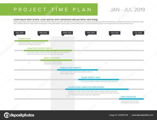 small resolution of grafico di vettore progetto timeline diagramma di gantt avanzamento del progetto illustrazione stock