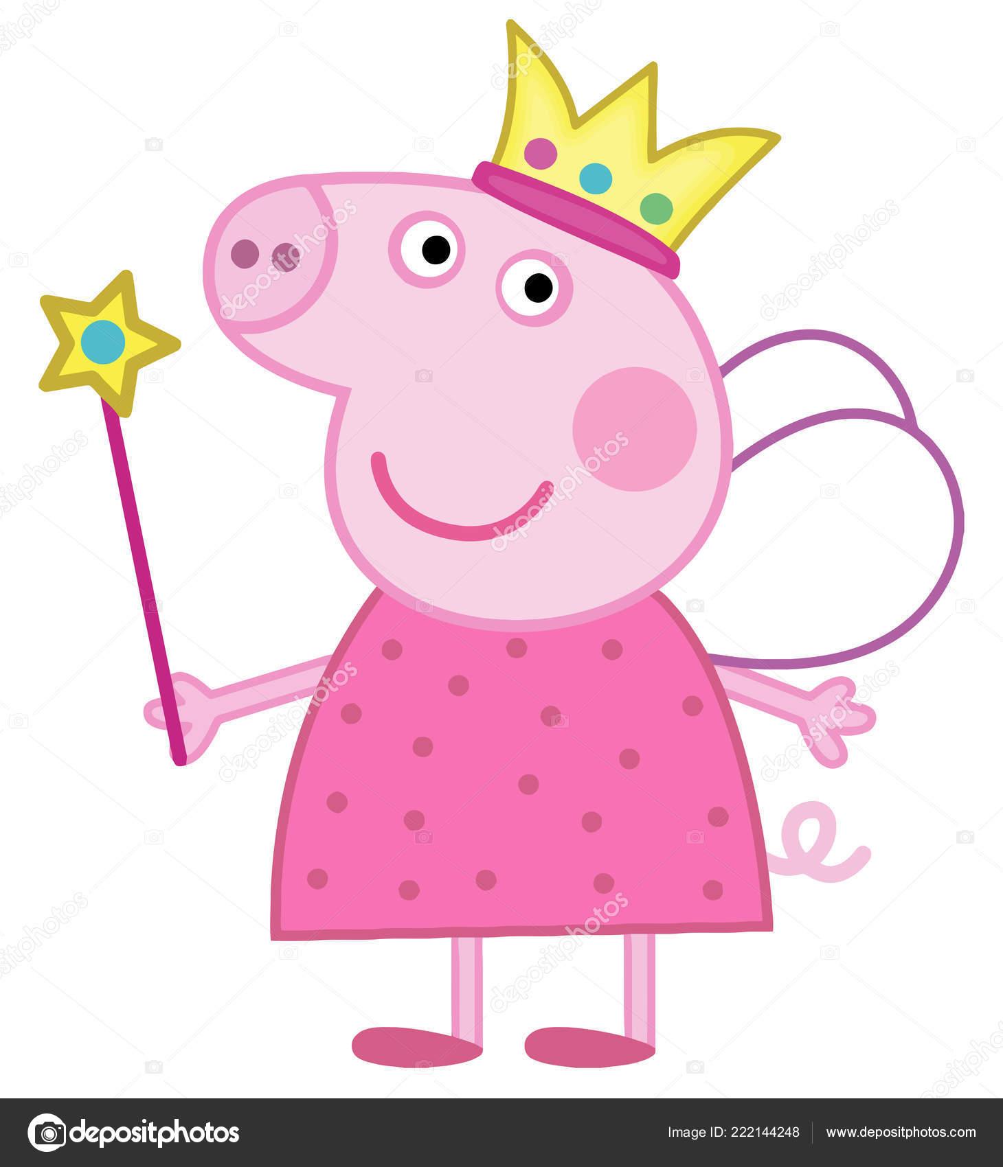 Images Peppa Pig Characters Peppa Pig Kids Cartoon Character Fairy Illustration Stock Editorial Photo C Chutimakuanamon 222144248