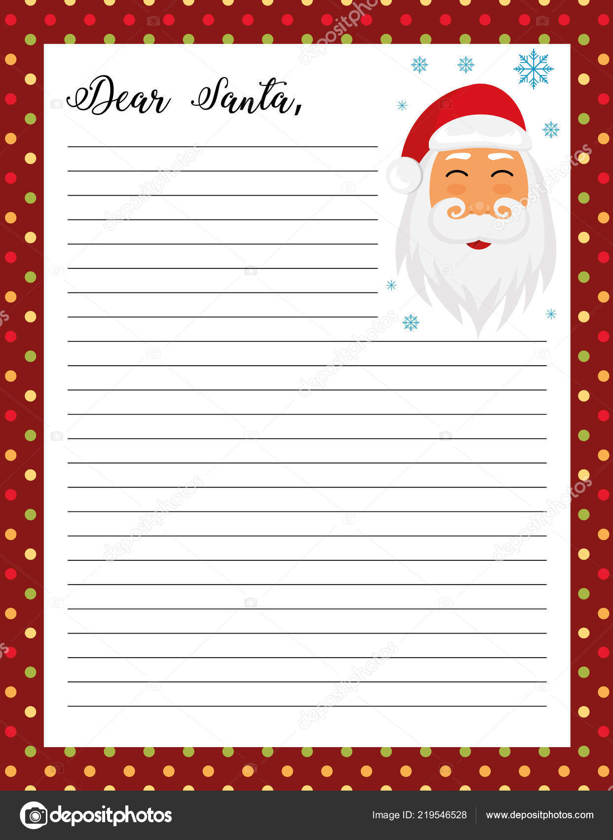 Printable Pictures Of Santa Claus That Are Simplicity