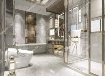Salle De Bain Moderne De Luxe | Salle De Bain De Luxe Moderne Génial ...