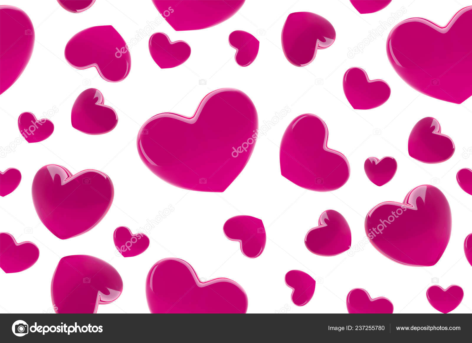 Valentines Day Hearts Seamless Pattern Background With Pink 3d Realistic Hearts Beautiful Abstract Wallpaper Valentine Day Love Card Vector Illustration Vector Cute Romantic Banner Design Stock Vector C Volmon Tut By 237255780