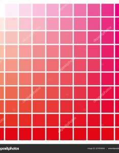 Cmyk color chart to use in prepress and printing used pick swatches red magenta are base colors others has been created combining them also rh depositphotos