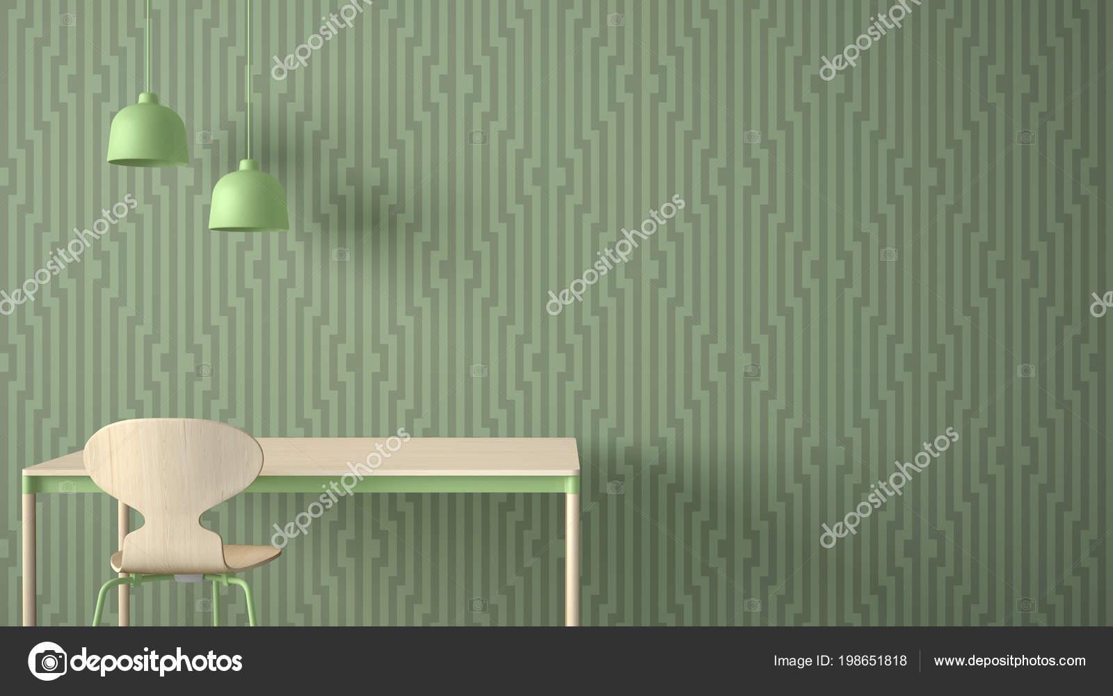 zinc kitchen table blue sink 简约的建筑师设计理念桌子和椅子厨房或办公室与灯具几何壁纸背景绿色粉彩 简约的建筑师设计理念桌子和椅子厨房或办公室与灯具几何壁纸
