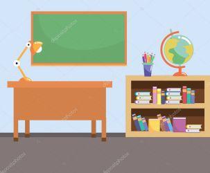 ✅ School study classroom cartoon vector illustration graphic design premium vector in Adobe Illustrator ai ai format Encapsulated PostScript eps eps format