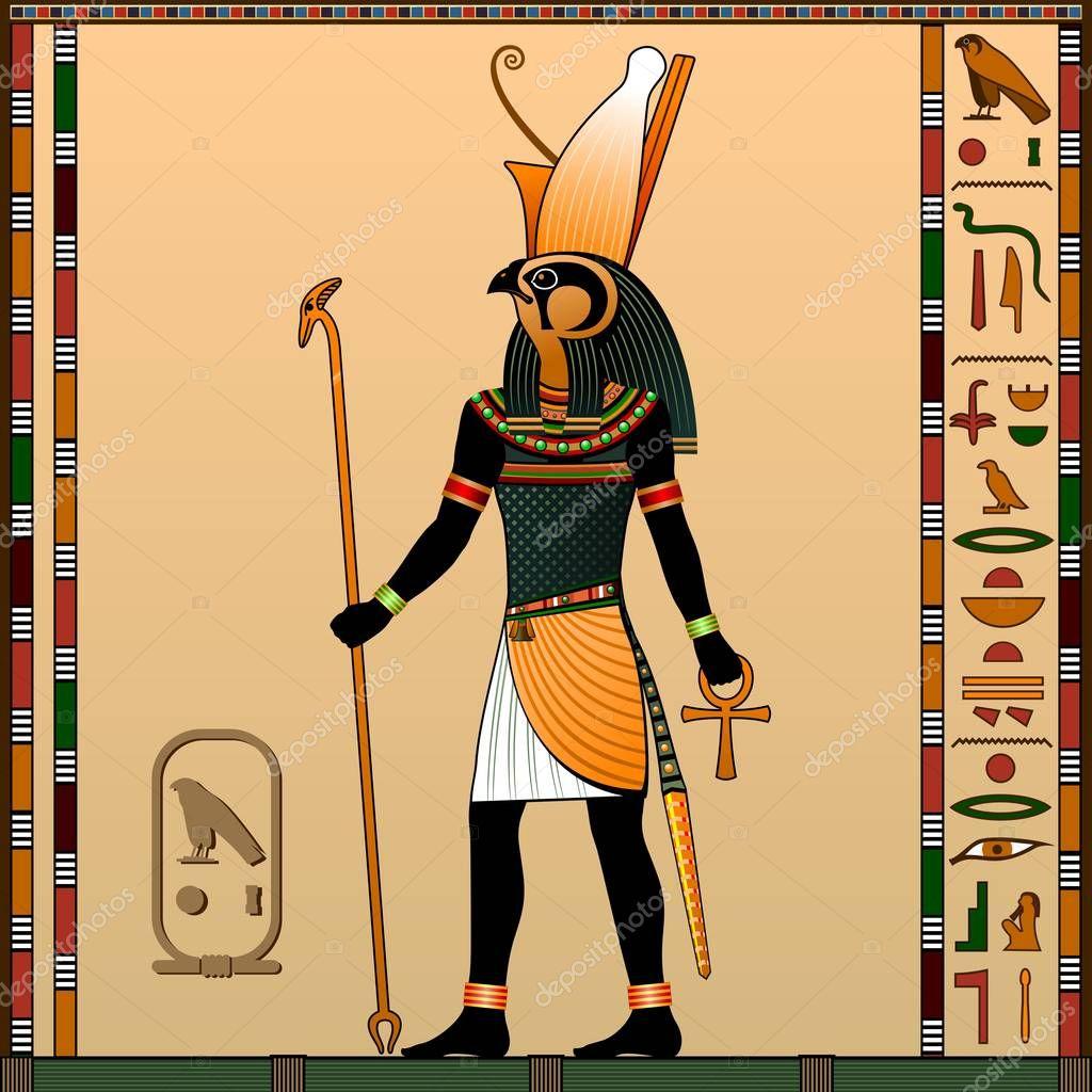 Religion Ancient Egypt Horus God Heaven Royalty Patron