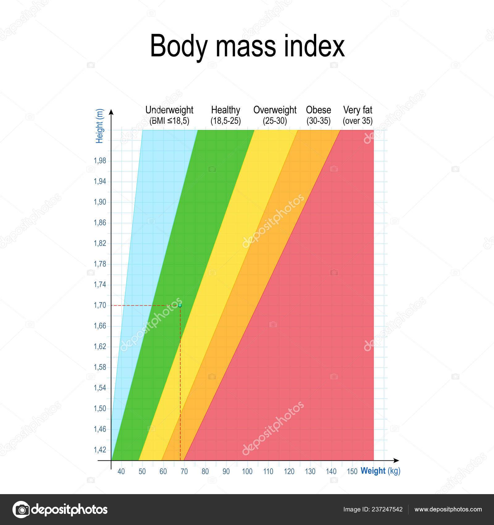 Indice Masse Corporelle Imc Tableau Poids Hauteur Pour Les