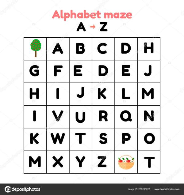 find the alphabet # 35