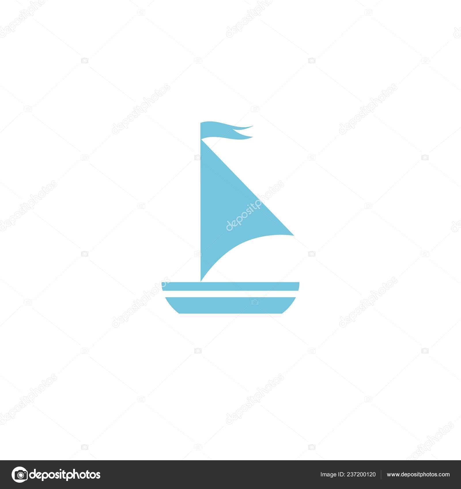 simple flat boat sail
