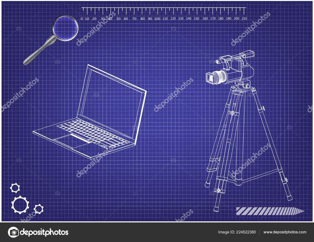 medium resolution of 3d model of laptop and camcorder with a tripod stock vector lego instrutions laptop camcorder laptop diagram