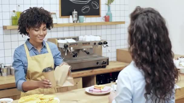Image result for smiling cashier