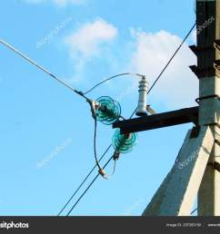 electric wires support blue sky stock photo [ 1600 x 1300 Pixel ]