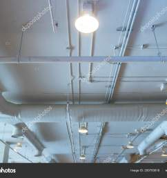 air duct wiring plumbing mall air conditioner pipe wiring pipe stock photo [ 1600 x 1182 Pixel ]