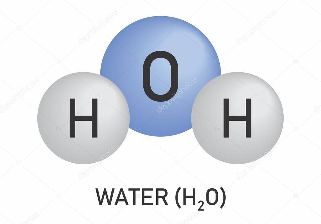 Pay less for your water park season pass early & H2o Illustration Of Water Molecule Model On White Background Premium Vector In Adobe Illustrator Ai Ai Format Encapsulated Postscript Eps Eps Format