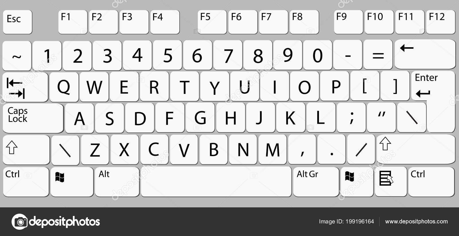 Computer Tastatur Smartphone Handy Tastatur Vektor Mock