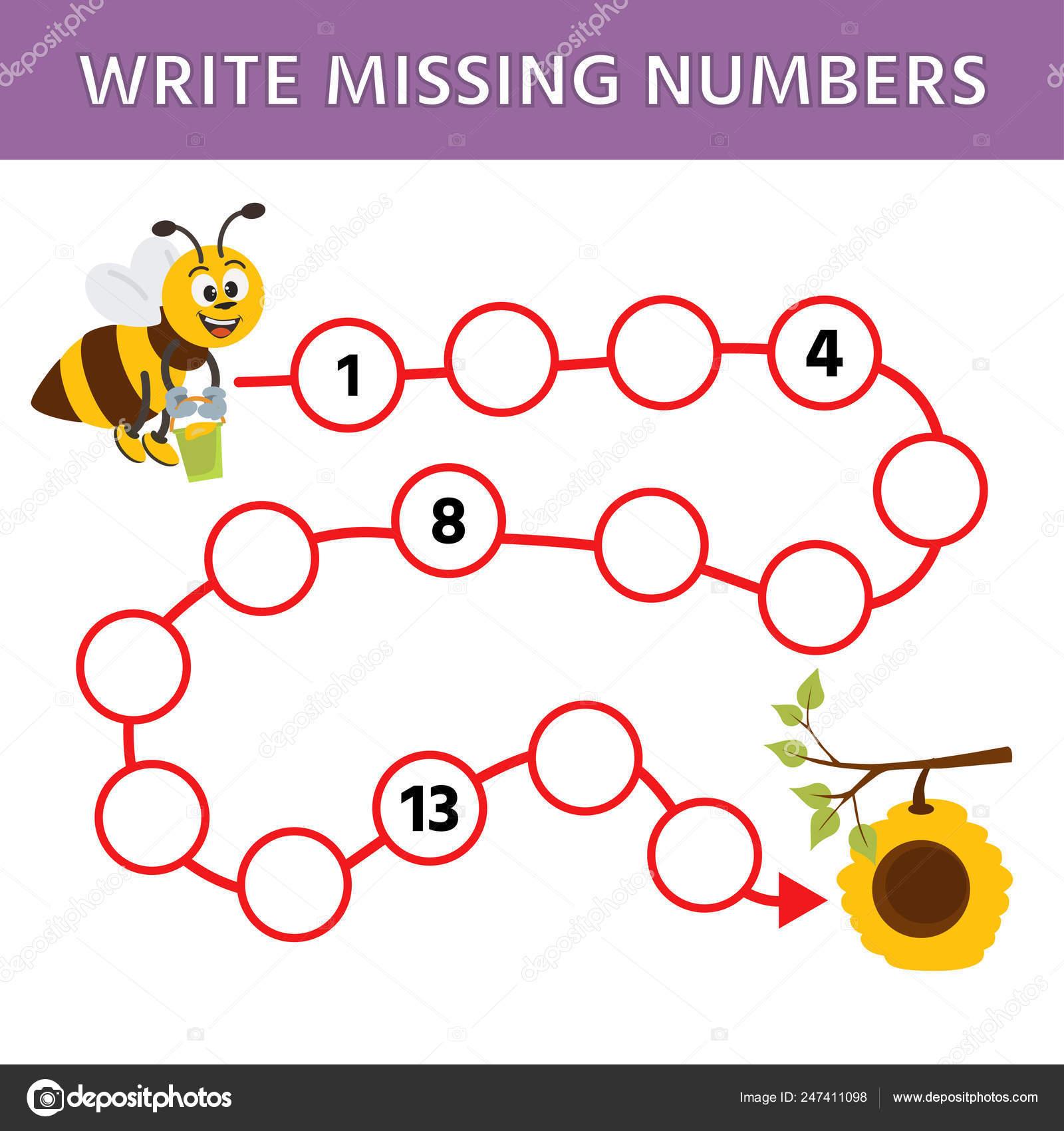 Mathematics Education Logic Game Preschool Kids Complete