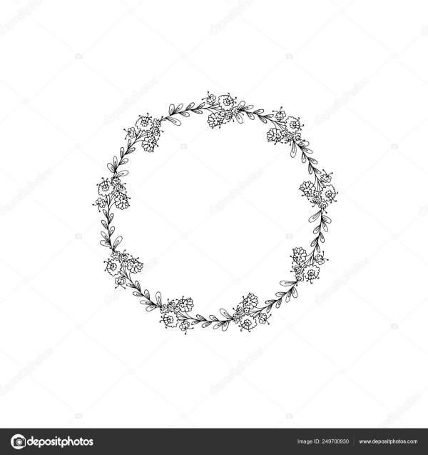 wreath template # 42