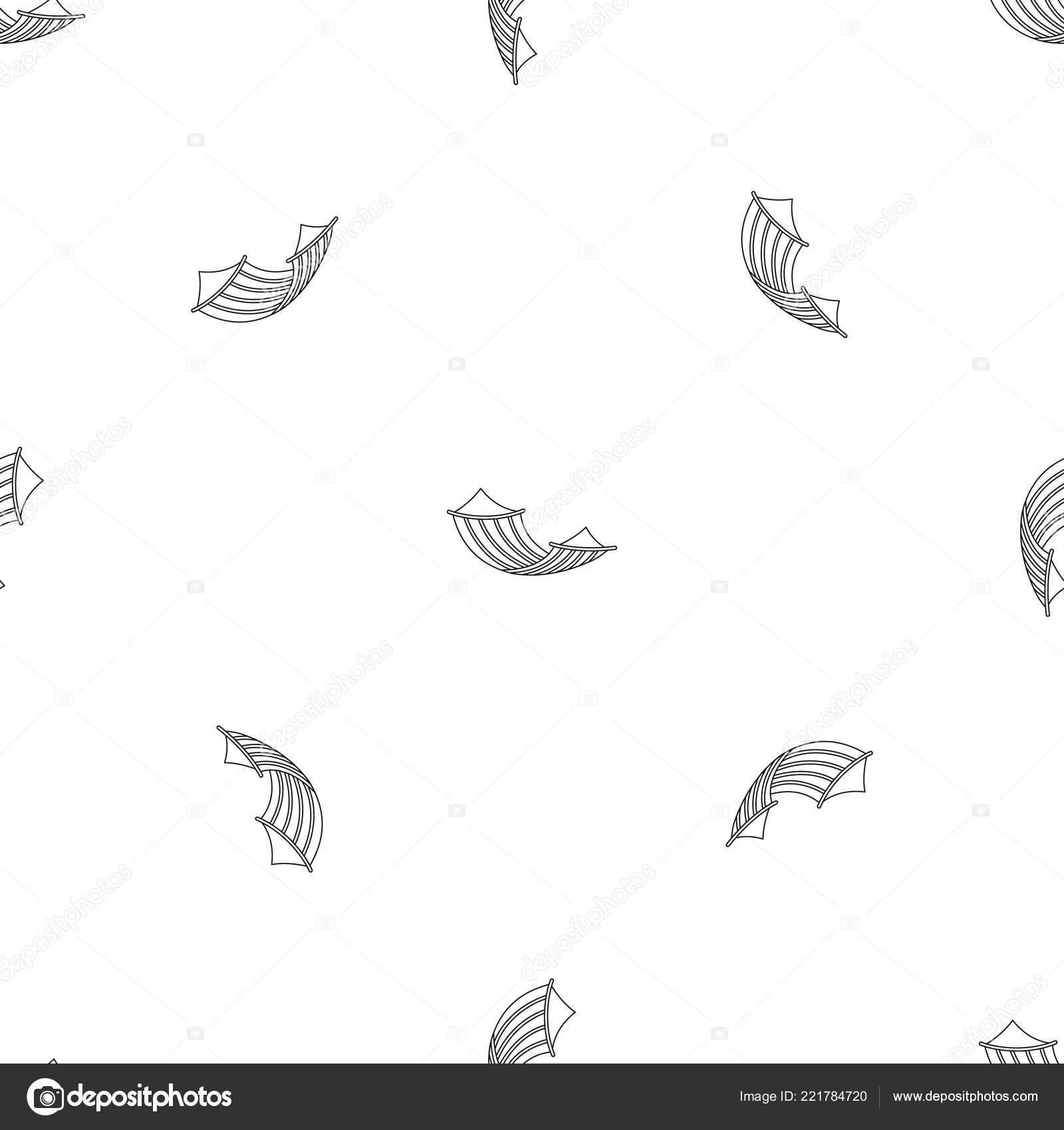 hammock pattern seamless vector