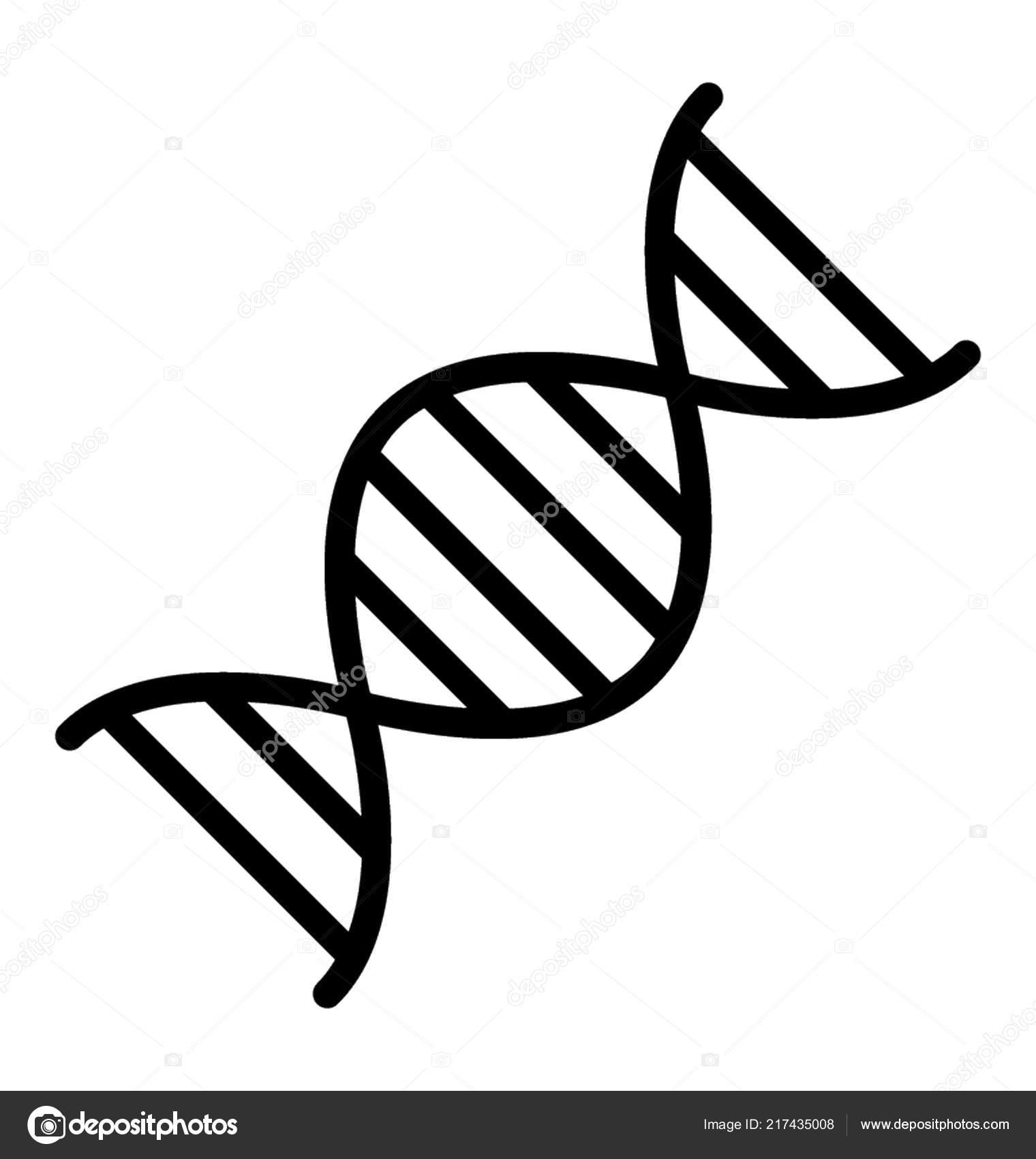Hélice Del Adn Por Concepto Manipulación Genética Genes