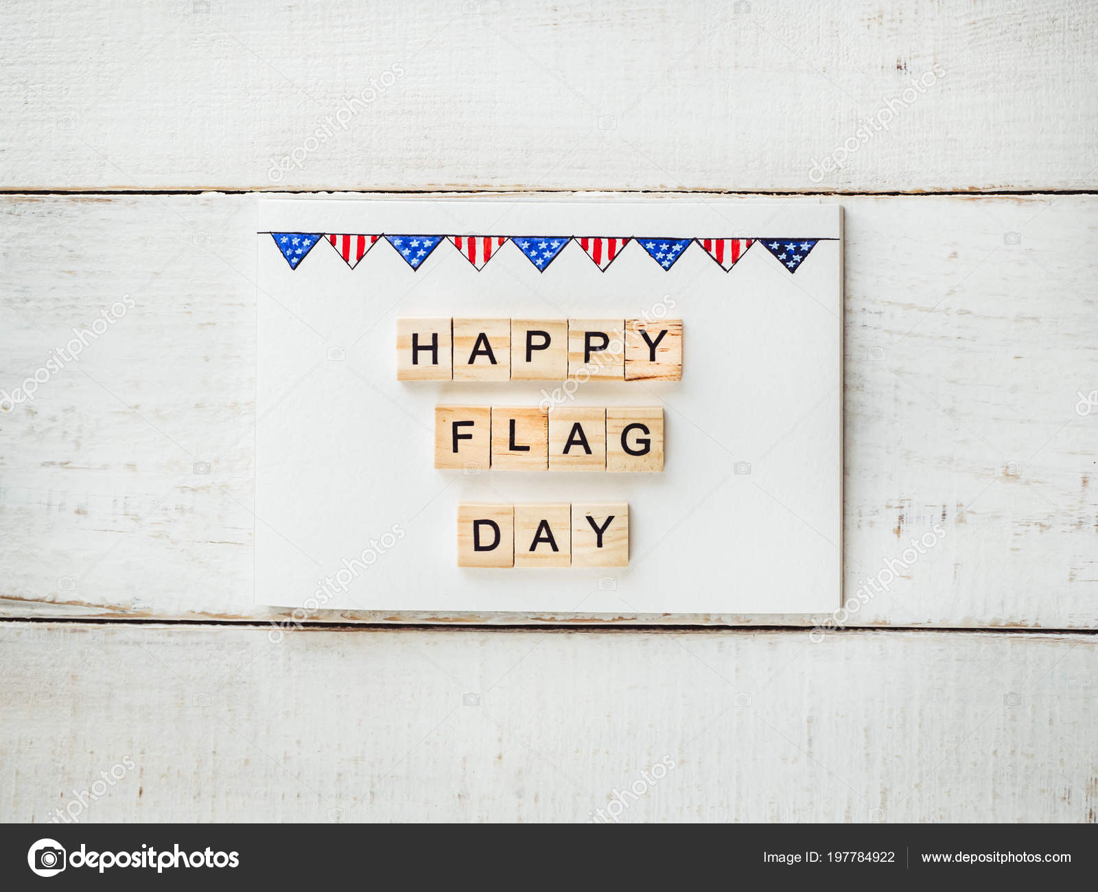 card pattern flag words