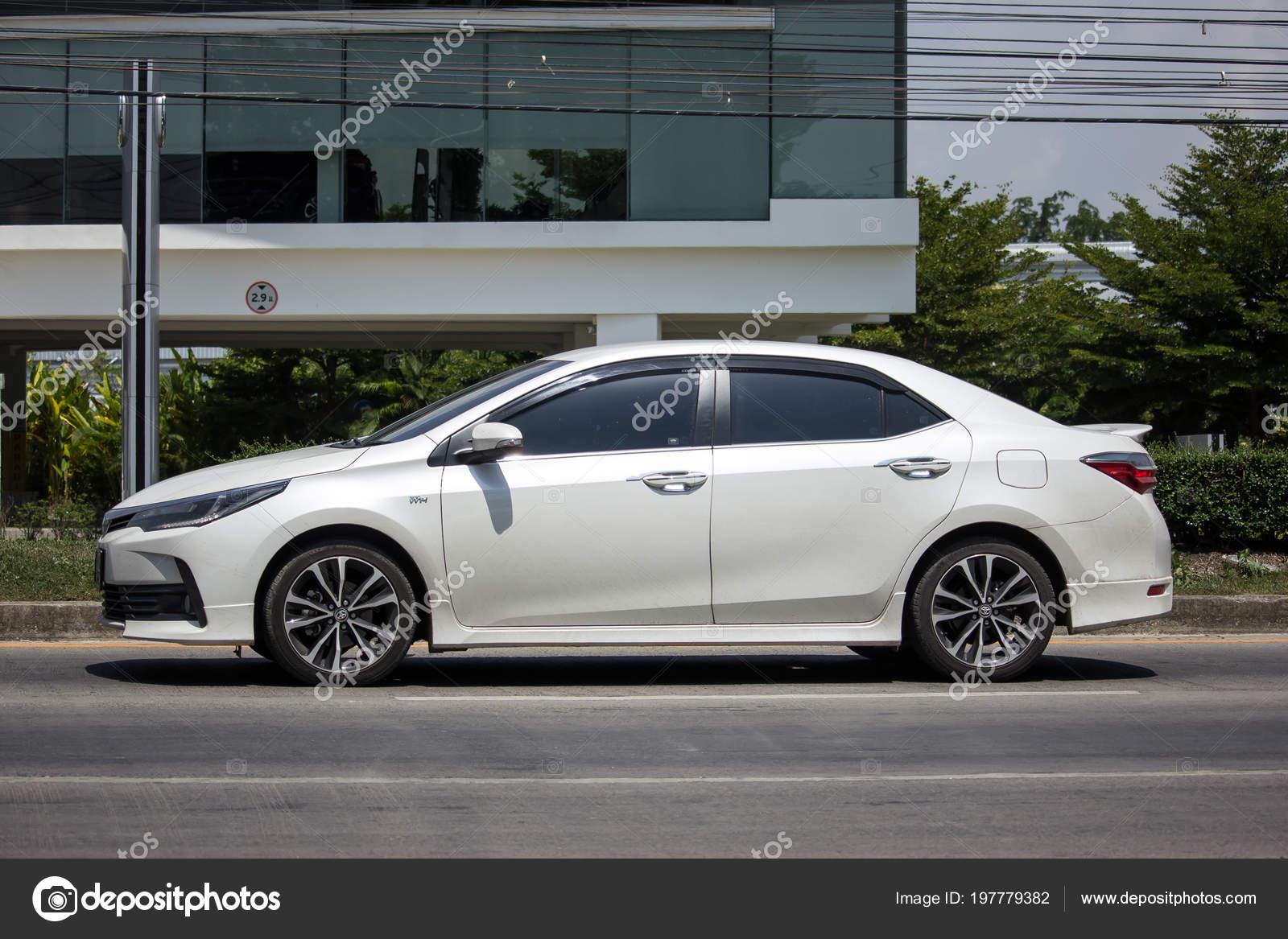 all new corolla altis 2018 warna grand avanza chiang mai thailand may private car toyota stock photo