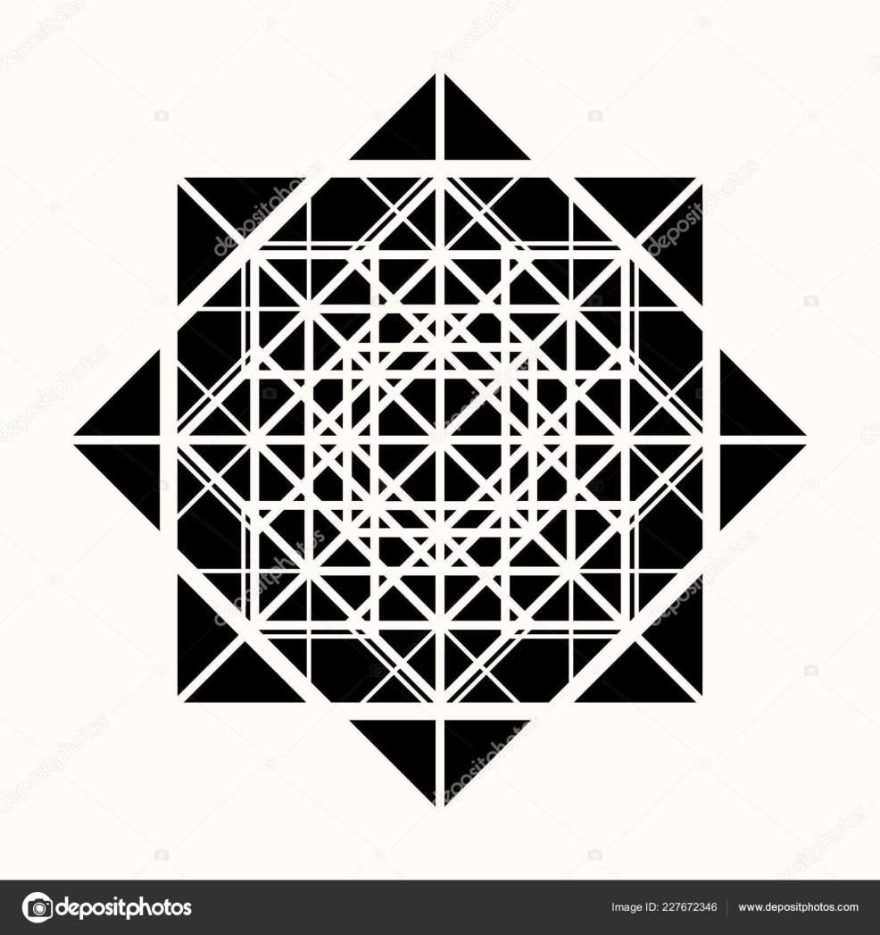 сакральная геометрия звезда геометрических фигур тайный символ