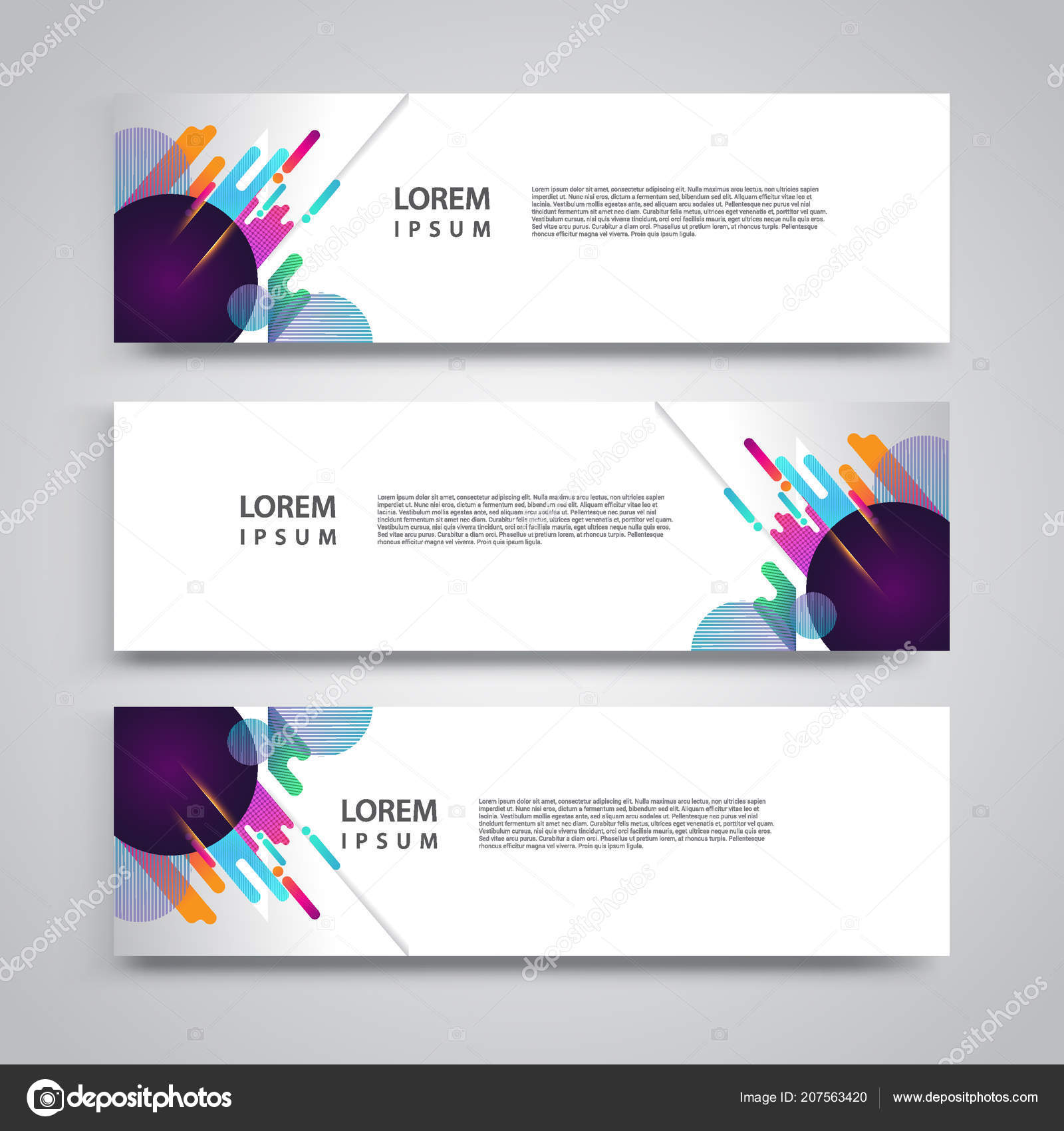 flyer template header design