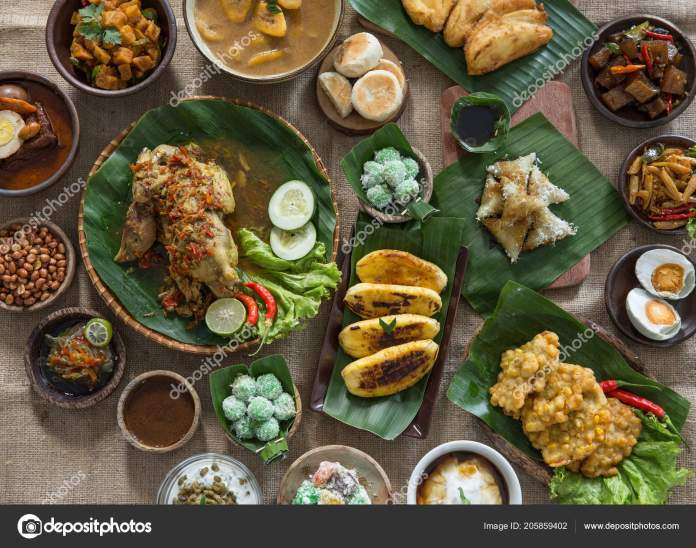 Indonesian Or Javanese Traditional Food Stock Photo Image By C Odua 205859402