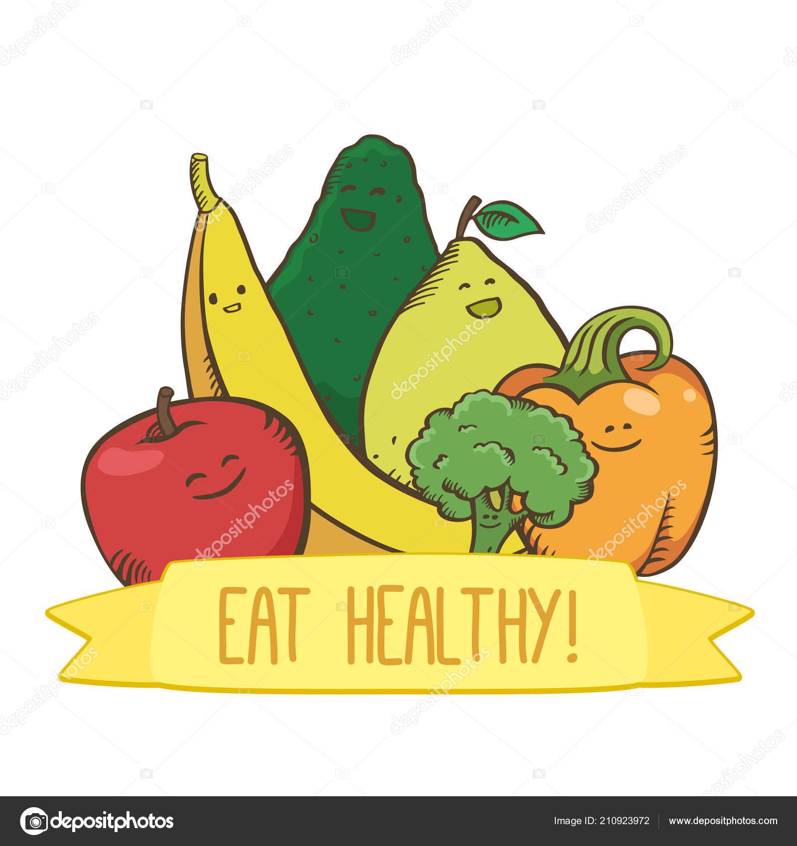 https depositphotos com 210923972 stock illustration three fruits three vegetables poster html