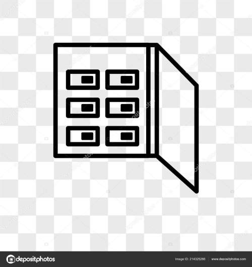 small resolution of fuse box vector icon isolated on transparent background fuse bo fuse box logo