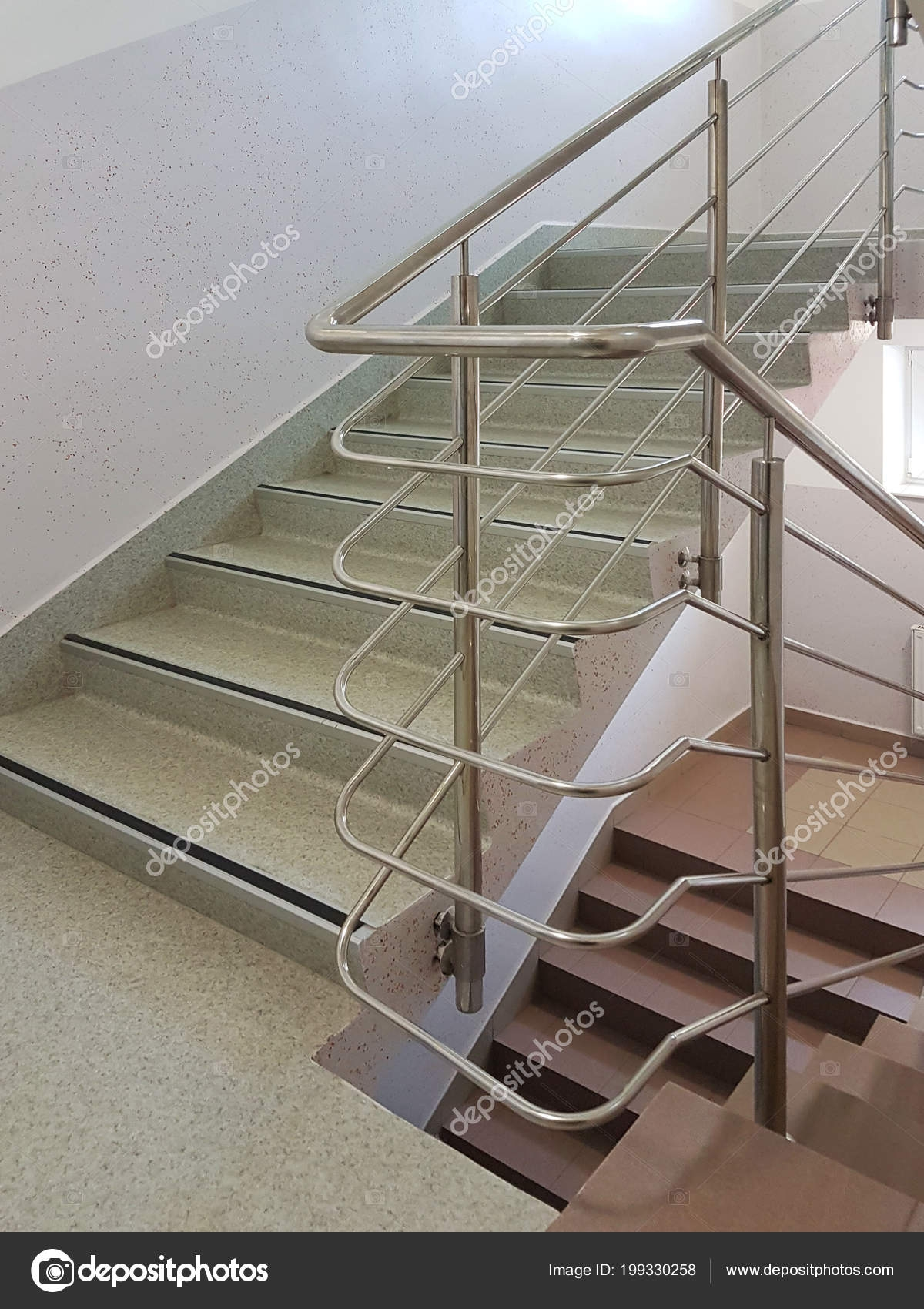 Pictures Handrails Staircase Stainless Steel Handrails Modern   Stainless Handrails For Stairs   Toughened Glass   Outdoor   Mild Steel Handrail   Commercial Building   Metal