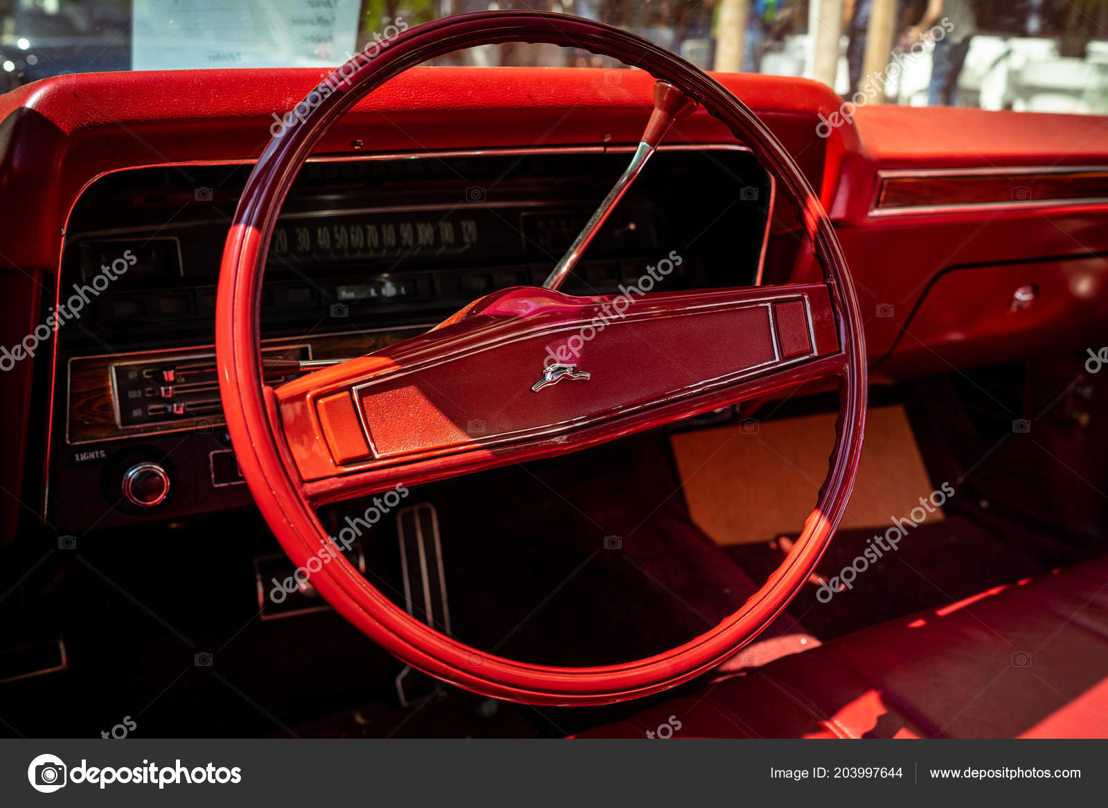 hight resolution of berlin june 09 2018 interior of a full size car chevrolet impala fourth generation classic days berlin 2018 stock editorial photography