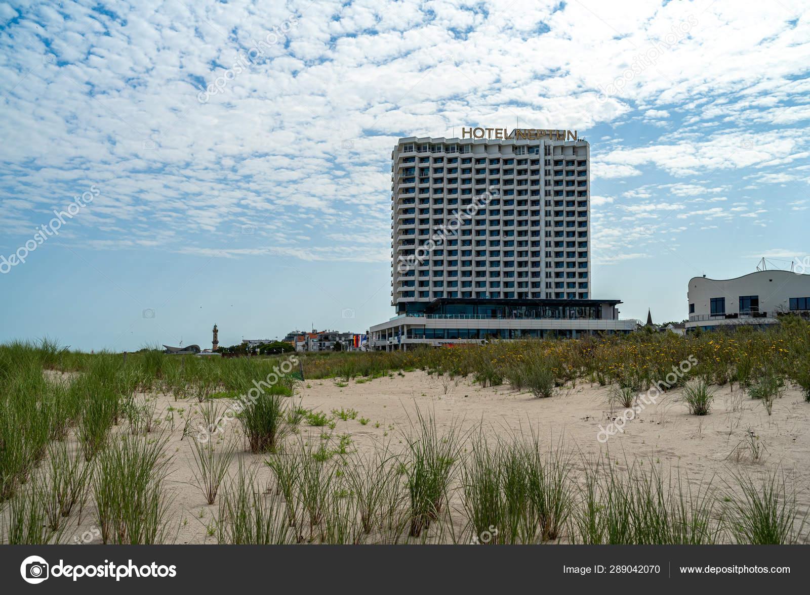 Warnemuende Rostock Germany July 2019 Five Star Hotel Neptun