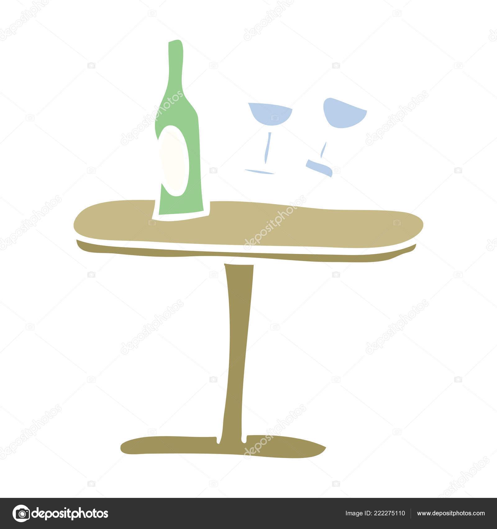 https fr depositphotos com 222275110 stock illustration flat color illustration cartoon table html