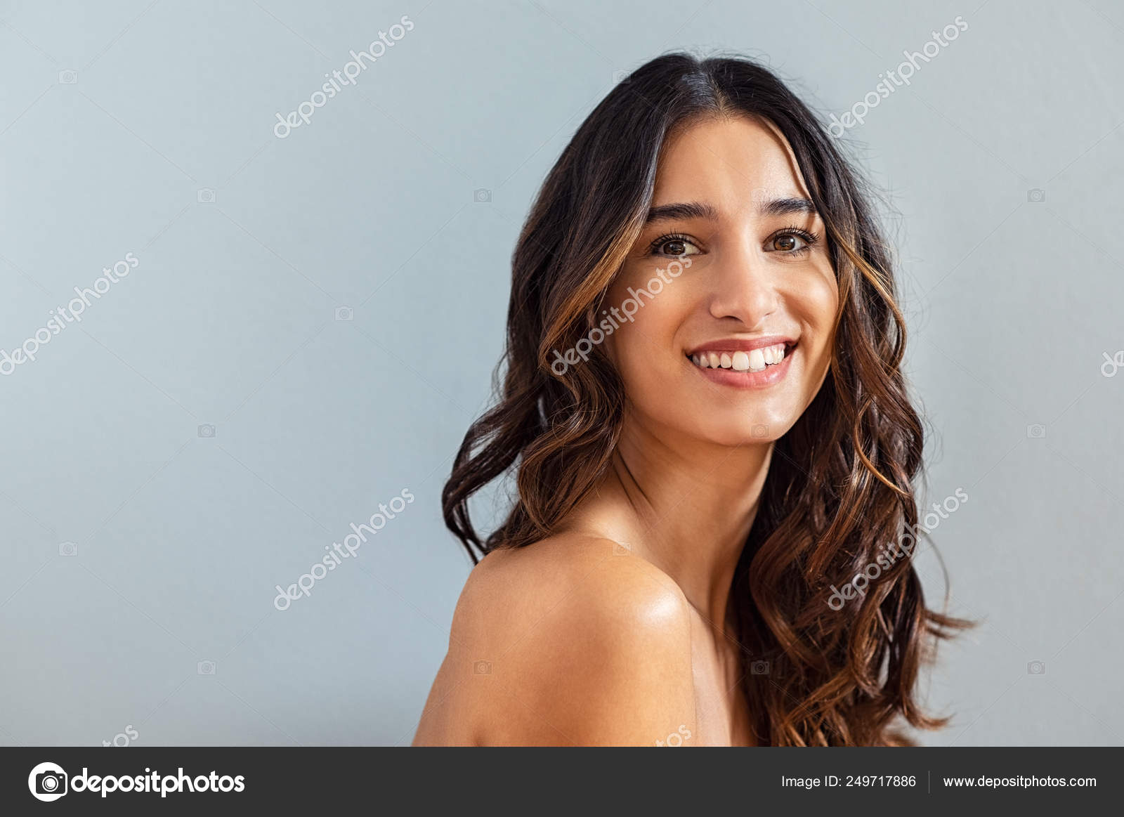 Natural Hispanic Beauty Stock Photo C Ridofranz 249717886