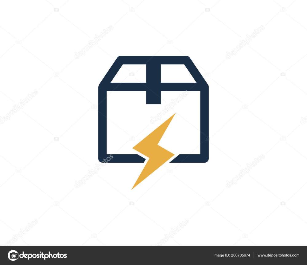 medium resolution of power box logo icon design stock vector