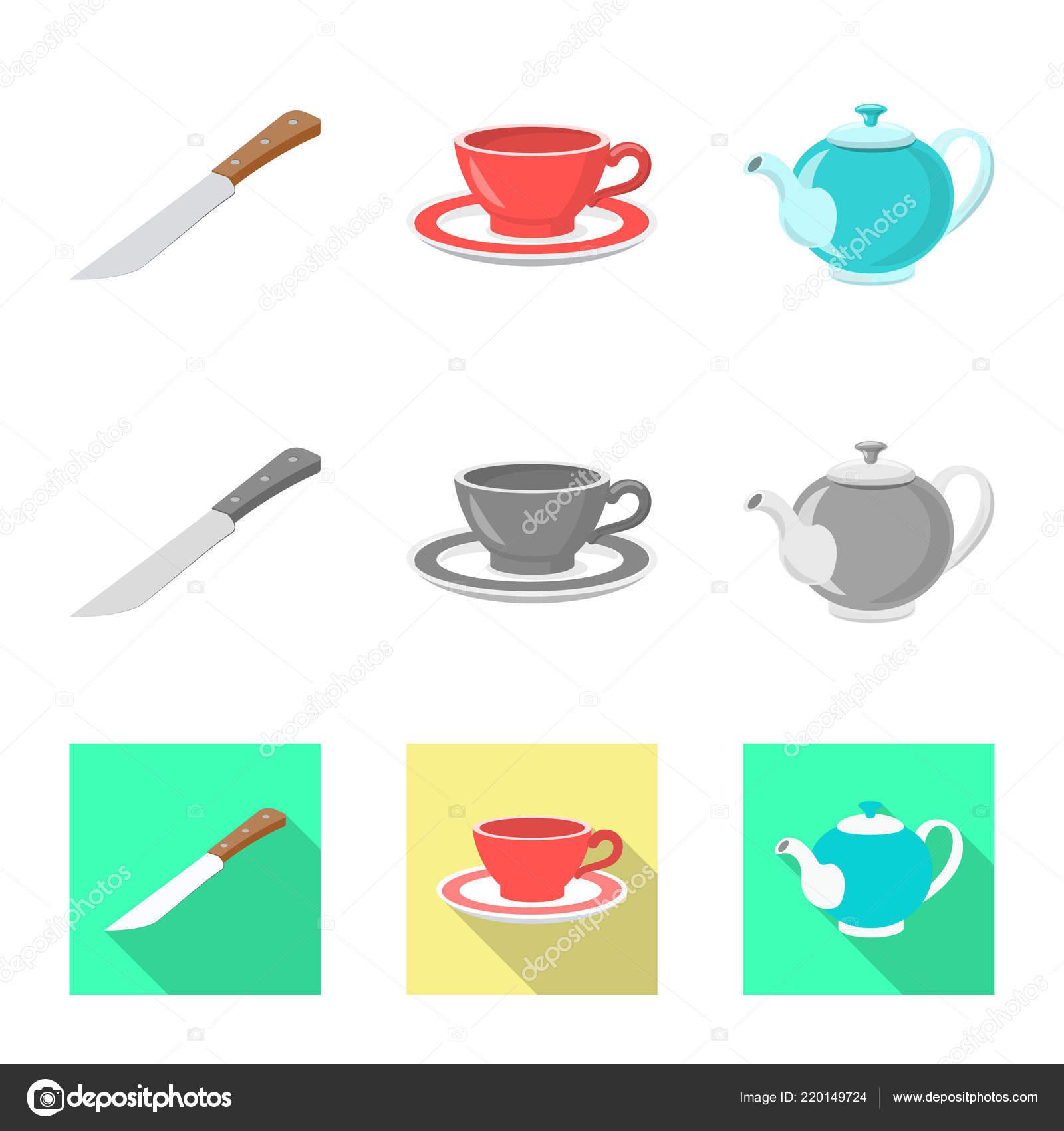 in stock kitchens modular kitchen usa 厨房和厨师象征的向量例证 库存厨房和家电矢量图标收藏 图库矢量图像