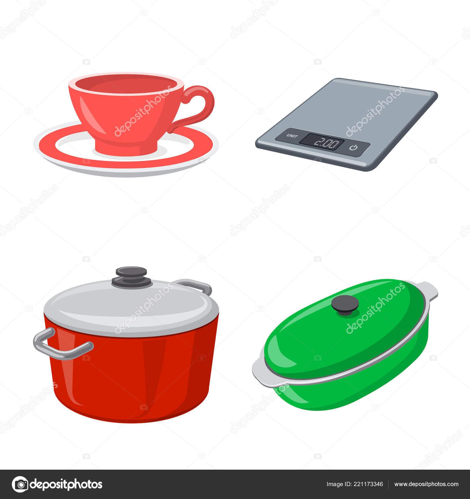 in stock kitchens stationary kitchen islands 厨房和厨师标志的向量例证 库存厨房和家电矢量图标收藏 图库矢量图像