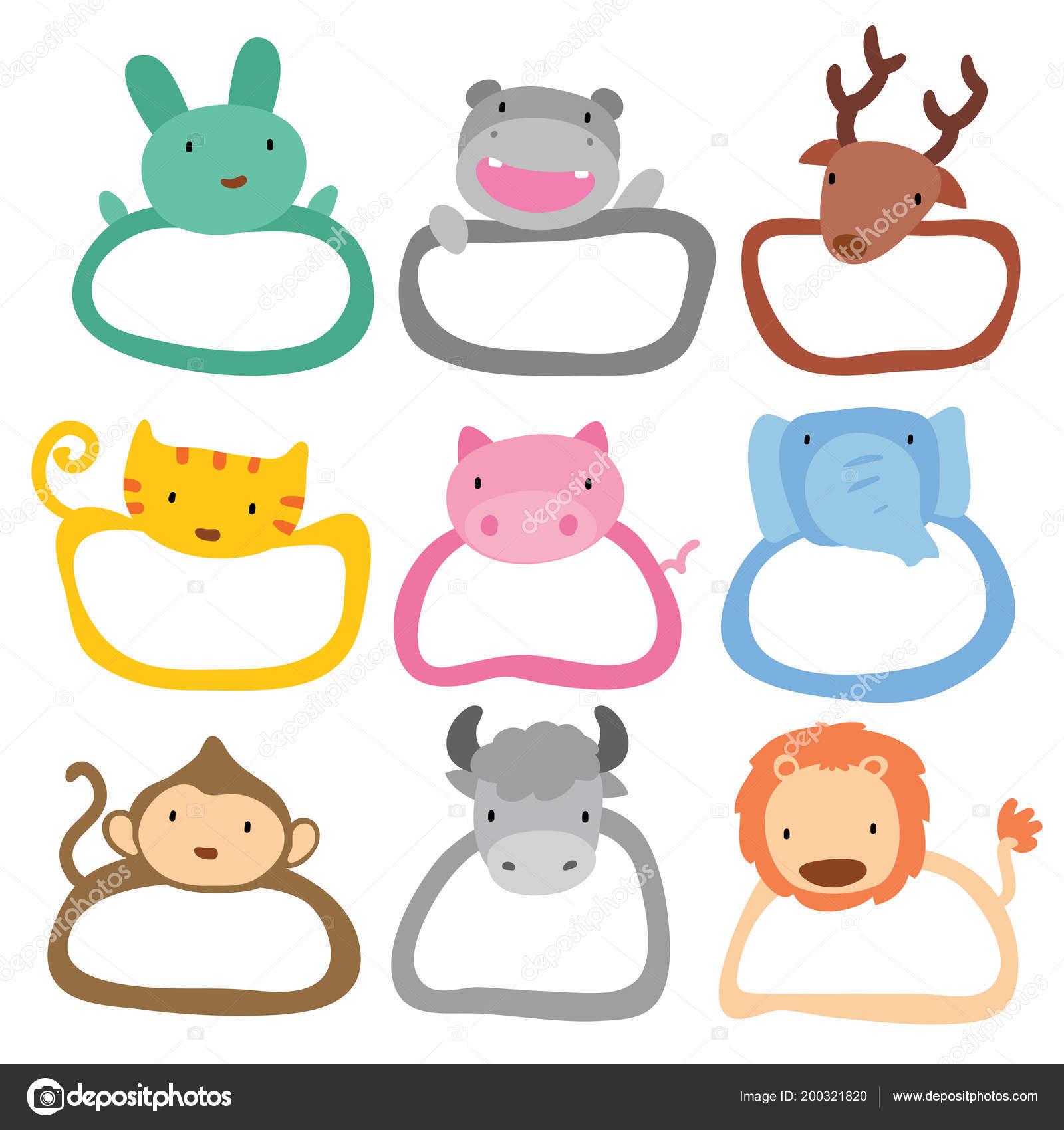 vector animal frame animal