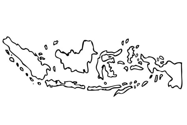 Kaos jersey sepeda gowes timnas garuda merah putih peta indonesia dry fit full. Peta Sketsa Indonesia Stok Vektor Ilustrasi Peta Sketsa Indonesia Bebas Royalti Depositphotos