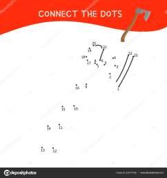 educational game kids dot dot game children cartoon tools stock vector [ 1600 x 1700 Pixel ]