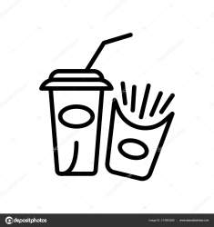 Icon: food white transparent Fast Food Icon Vector Isolated White Background Fast Food Transparent Stock Vector © tvectoricons #214583266