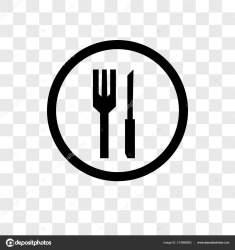 Vector: restaurant Restaurant Vector Icon Isolated Transparent Background Restaurant Logo Concept Stock Vector © tvectoricons #214586992