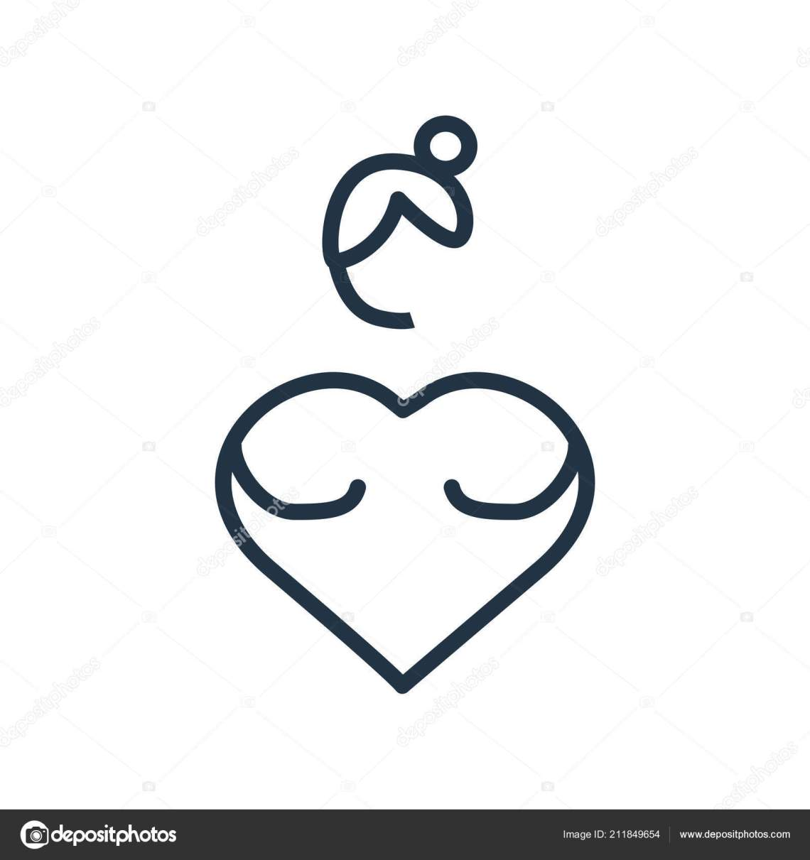 Download Love Yourself Icon Vector Isolated White Background Love ...