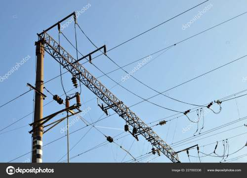 small resolution of a pole with electrical wires high voltage power lines
