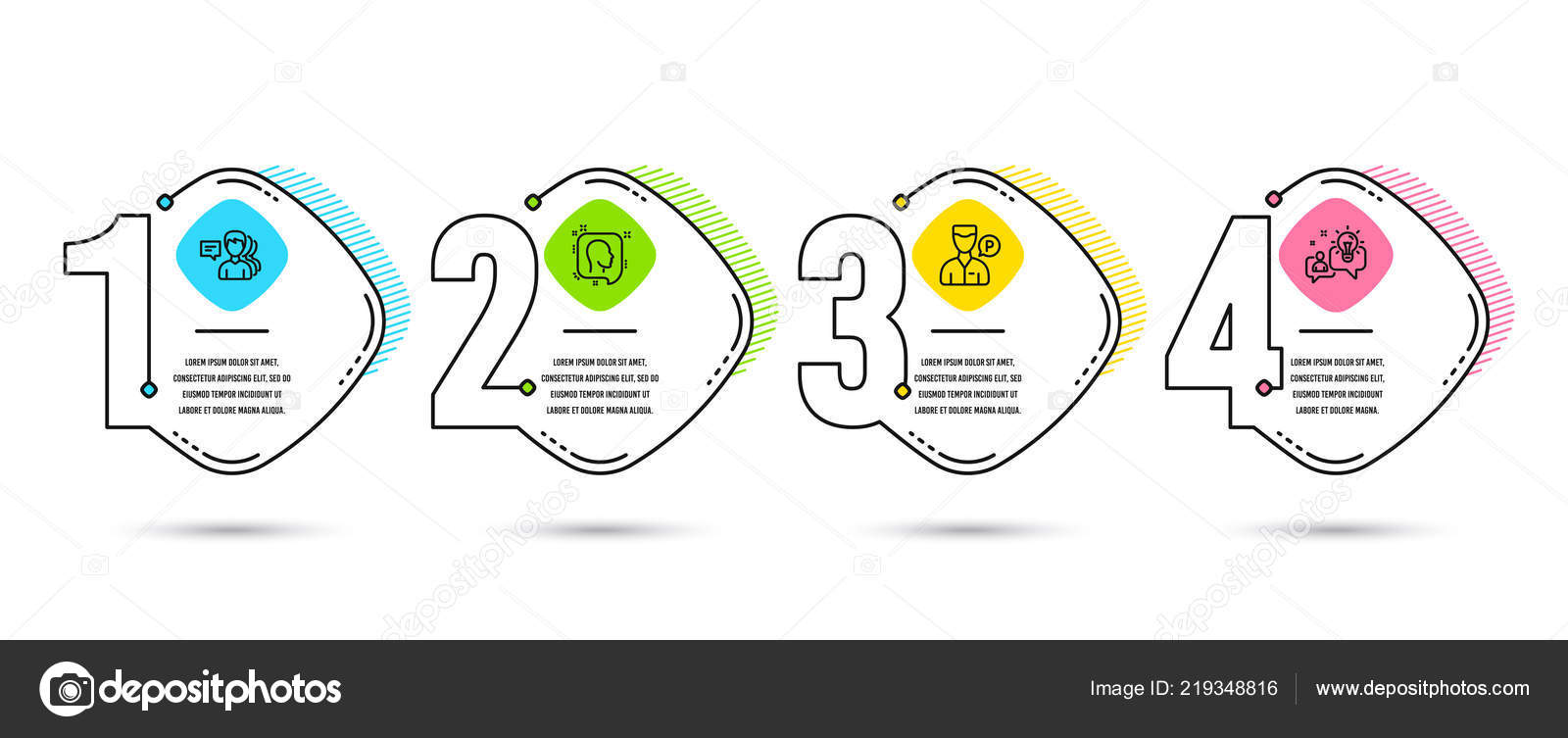hight resolution of set of people valet servant and head icons idea sign support job parking man profile messages solution process diagram workflow layout