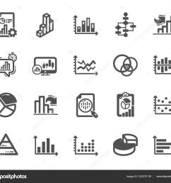 charts and diagrams icons report 3d chart block diagram and dot plot graph icons trend pyramid and pie chart report symbols presentation infochart  [ 1600 x 1394 Pixel ]