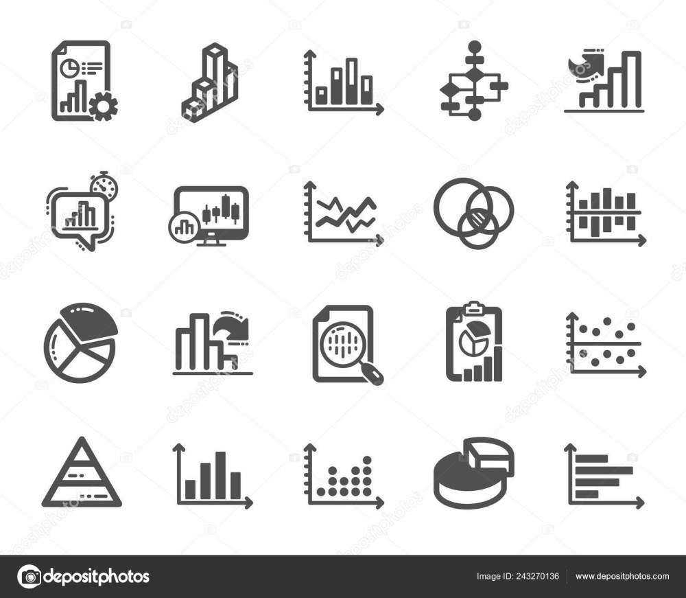 medium resolution of charts and diagrams icons report 3d chart block diagram and dot plot graph icons trend pyramid and pie chart report symbols presentation infochart